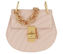 Drew Bijou Mini Leather Cement Pink Tasche