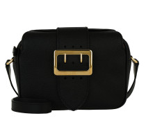 Zip Buckle Crossbody Bag Black Tasche