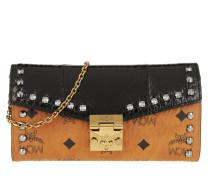 Patricia Extc Large Wallet Black Tasche cognac