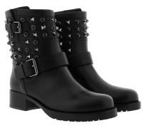 Valentino Boots Leather Black Schuhe