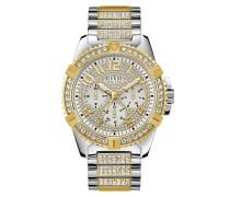 Uhr Men Quartz Watch Frontier Silver/Gold