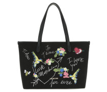 Je t'aime Shopping Bag Nero Tote schwarz