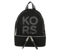 Rucksack Rhea Zip Medium Backpack Black/Optic White schwarz