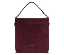 Keyla Suede Hobo Bag Grape Hobo Bag