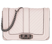 Chevron Quilted Small Bag Soft Blush