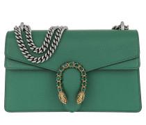 Dionysus Shoulder Bag Leather Green Satchel Bag