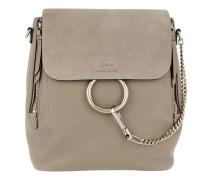 Faye Medium Backpack Motty Grey Rucksack