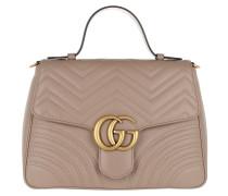 GG Marmont Medium Top Handle Bag Rose Tote