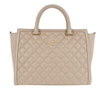 Quilted Nappa Handle Bag Tortora Tote