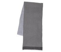 Accessoire Check Doublelayer 40x180 Scarf Anthracite