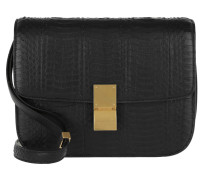 Medium Classic Box Shoulder Bag Black