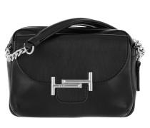 Double T Camera Bag Calf Leather Black Tasche