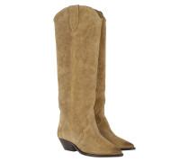Boots Denvee Leather Beige