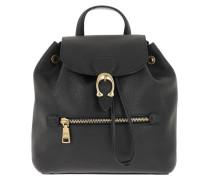 Rucksack Pebble Leather Evie Backpack 22 Black