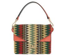 Ambrine Etno Crossbody Bag Multicolour/Corail Tasche