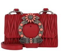 Madras Miu Lady Shoulder Bag Calf Leather Fuoco Tasche