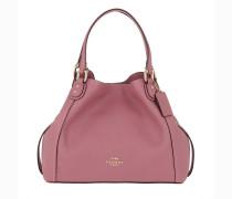 Hobo Bag Polished Leather Edie 28 Shoulder Bag Rose pink