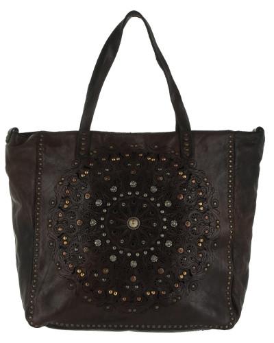 Campomaggi Damen Amamelide Shopping Bag Grigio Tasche Neu Neu Werden KpmOg