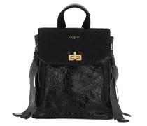 Rucksack Mini Backpack Leather Black