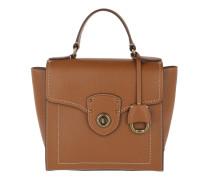 Millbrook Top Handle Satchel Bag Small Lauren Tan Satchel Bag