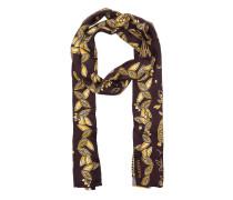 Jaguar Scarf Bordeaux/Yellow Schal rot