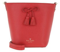 Hayes Street Vanessa Bucket Bag Royal Red Beuteltasche