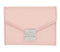 Patricia Park Avenue Flap Wallet Tri-Fold Small Pink Blush
