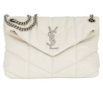 Umhängetasche LouLou Monogramme Shoulder Bag S Leather Crema weiß