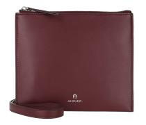 Mila Crossbody Bag Burgundy Tasche