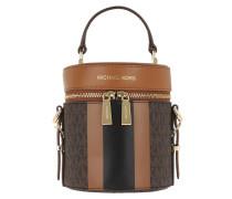 Beuteltasche Bedford Travel Medium Barrel Xbody Brown/Acorn cognac