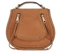 Small Vanity Saddle Bag Almond Umhängetasche