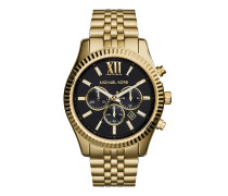 Uhr MK8286 Gents Lexington Watch Gold gold