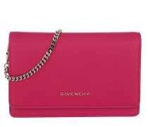 Pandora Chain Wallet Leather Fuchsia Tasche