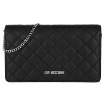 Melting Heart Crossbody Bag Black/Gold Tasche