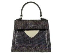 Glitter Handle Bag Noir Tasche