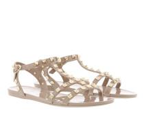 Rockstud Flat Sandals Soft PVC Poudre Sandalen