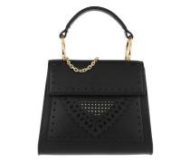 Lace Special Handle Bag Noir Tasche