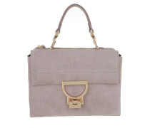 Arlettis Suede Shoulder Bag Pivoine