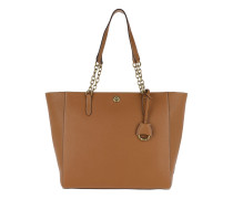 Millbrook Tote Pebbled Leather Lauren Tan Tote