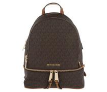 Rucksack Rhea Zip MD Backpack Brown braun