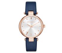 Aurelie Klassic Watch Blau Uhr