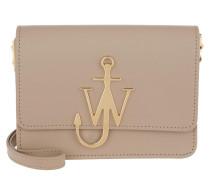 Umhängetasche Logo Bag Ash beige