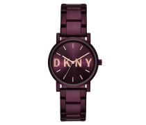 Uhr Soho Watch Ladies Purple lila