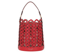 Beuteltasche Dorie Small Bucket Bag Hot Chili rot