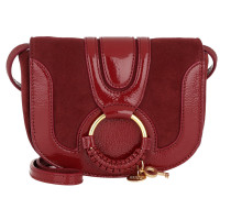 Hana Crossbody Patent Leather Acerola Tasche
