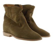 Crisi 40 Hill Boots Suede Brown Schuhe