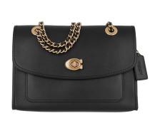 Umhängetasche Refined Leather Parker Shoulder Bag Black schwarz