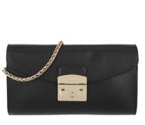 Metropolis S Pochette W/Chain Onyx Tasche
