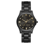 Uhr Henry Ladies Watch Black schwarz