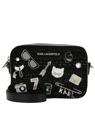 K/Klassik Pins Camera Bag Black